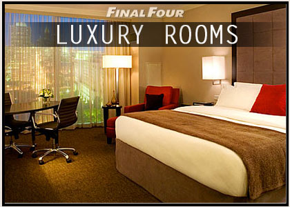 final four hotel rooms